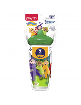 Playtex Baby Sipsters Stage 3 Teletubies Insulated Sippy Cups 9 oz - 1 Pack (Assorted Patterns)