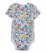 Snoopy Baby Boy Graphic Bodysuit, 3 Pack