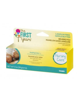 (2 Pack) The First Years Lanolin-Free Nipple Soothing Cream