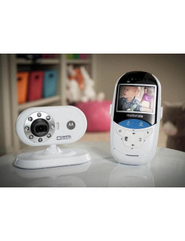 Motorola MBP27T 2.4 GHz Digital Video Baby Monitor with 2.4-Inch Color LCD