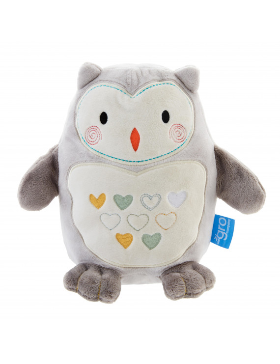 Tommee Tippee Ollie the Owl Grofriend Light and Sound Sleep Aid, 0m+