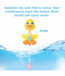 9 PCs Baby Bath Toys, Duck Spray Water Toy, Bath Squirters, Bath Boat, Fishing Net, Bathtub Toys for Kids, Best Gifts for Kids F-371