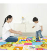 Baby Play Mat Foldable Baby Crawling Pad Reversible Thickening Children Floor Gym Mat Non-Slip Large Playmat BPA Free