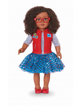 """My Life As 18"""" Poseable Class President Doll, African American"""