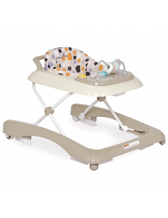 Dream On Me Tiny Toes Walker in Beige