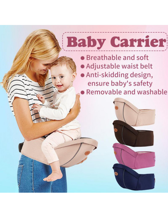 Adjustable Baby Carrier Waist Stool Walker Infant Sling Hold Hipseat Belt Newborn Toddler Hip Seat Unisex