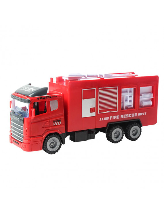 【JCXAGR】Friction Powered Cars Push and Go Car Construction Vehicles Toy For kids