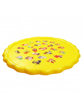 Inflatable Spray Water Cushion, Summer Children's Play Water Mat, Outdoor Tub Swimming Pool Water Cushion Toys, 5.6FT