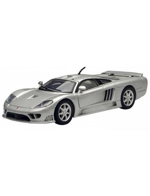 Saleen S7, Silver - Motormax 73279 - 1/24 scale Diecast Model Toy Car