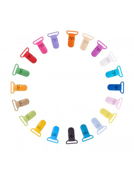 25mm Plastic Clip Camisole Feeding Bottle Clip Color 34