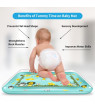 Codream Kids Inflatable Tummy Time Premium Water mat Infants and Toddlers is The Perfect Fun time Play Activity Center Your Baby's Stimulation Growth (Rectangle)