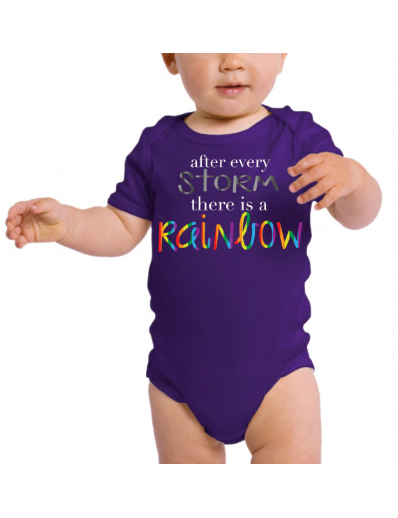 Rainbow Baby One-Piece, Newborn Baby Rompers, Jumpsuit Baby Clothing - After the Storm