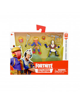 Fortnite Battle Royale Collection Duo Pack, Beef Boss & Grill Sergeant