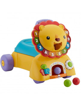Fisher-Price 3-in-1 Sit, Stride & Ride Interactive Lion