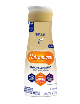 Nutramigen Hypoallergenic Infant Formula - Ready to Use Liquid, 32 fl oz Bottle