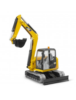 CAT Mini Excavator with Chain Link Chassis and Working Arm