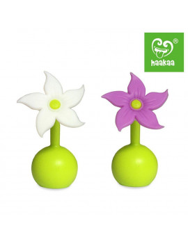 Haakaa Silicone Breast Pump Stopper 1 pk Pump Not Included - Stopper Only