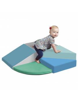 ECR4Kids SoftZone Junior Tiny Twisting Climber, Indoor Play - Babies & Toddlers