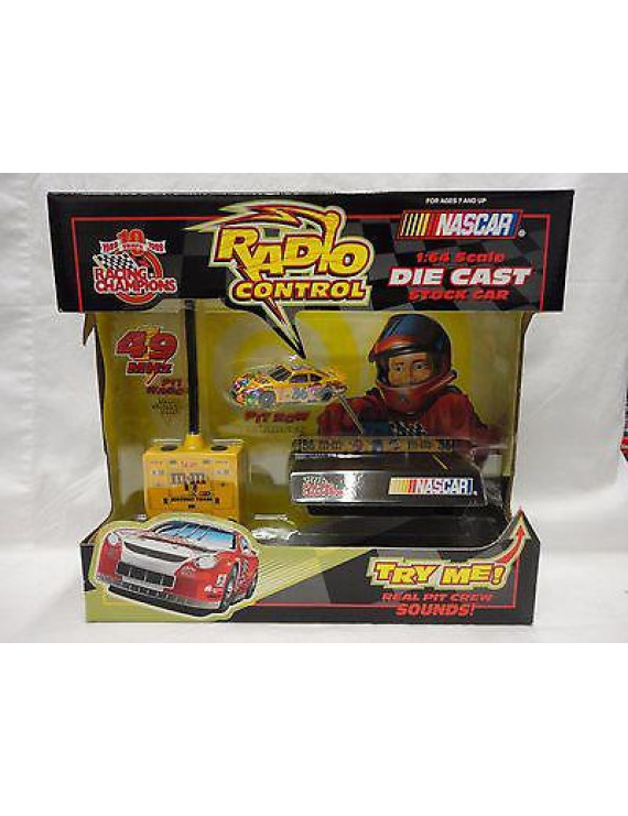 Nascar Racing Champions Mobil 1 Radio Control 1:64 Scale Die Cast Stock Car