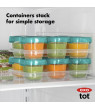 OXO Tot Baby Blocks Freezer Storage Containers (2Oz), Teal