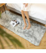 Luxury Soft Comfy Indoor Shag Area Rugs, Smooth Fur Fluffy Carpets,Anti-Skid Home Shaggy Floor Rug ,Dining Room Bedroom Home Decor Floor Mat ,3 Size 3 Color