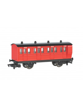 Bachmann Trains HO Scale Thomas & Friends Red Brake Coach Train