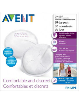 Daytime Breast Pads- 30 Count