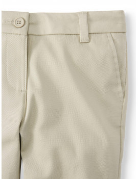 Wonder Nation Girls School Uniform Stretch Twill Skinny Pants, Sizes 4-16 & Plus