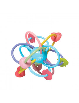 Manhattan Toy Manhattan Ball Rattle and Sensory Teether Toy (Boxed)