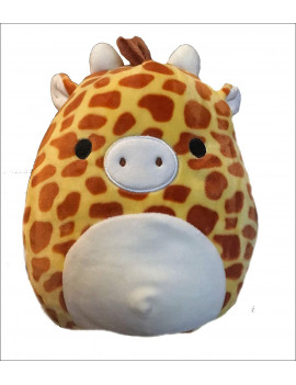 "SQ18-017S, 8"" Giraffe Toy, Multicolor, Gary the giraffe By Squishmallow"
