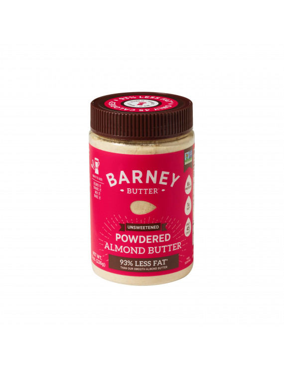 Barney Butter  Powdered Almond Butter  Unsweetened  8 oz  226 g
