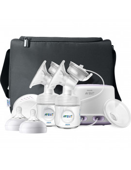 Philips Avent Double Electric Breast Pump with Bonus Power Cushion