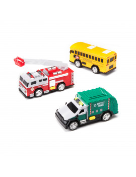 Adventure Force City Service Vehicles, 3 Pack