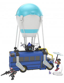"Fortnite Battle Royale 13"" Battle Bus, with 2 Exclusive Mini Figures"