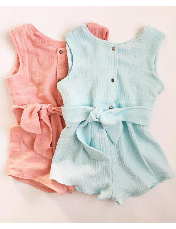 Hot Toddler Kids Baby Girls Clothes Romper Jumpsuit Bodysuit Overalls Outfit Set