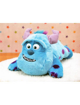 CM-06154 Sega Prize Monsters Inc Sully Mega Jumbo Big Face Nesoberi Plush 40 cm