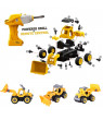 Nomeni DIY Bulldozer Take Apart Toys-With Electric Drill-Converts to Remote Control Car