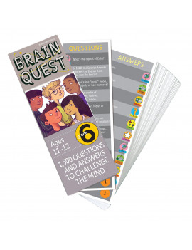 Brain Quest Grade 6, revised 4th edition : 1,500 Questions and Answers to Challenge the Mind