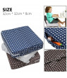 ODOMY Baby Kids Booster Seat For Dining Portable Thick Chair Increasing Cushion