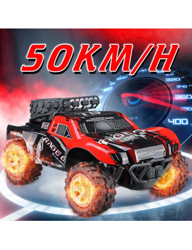 1:18 48 KM/H 2.4GHz Remote Control Car RC Electric Monster Truck Off Road Vehicle Kids Toy