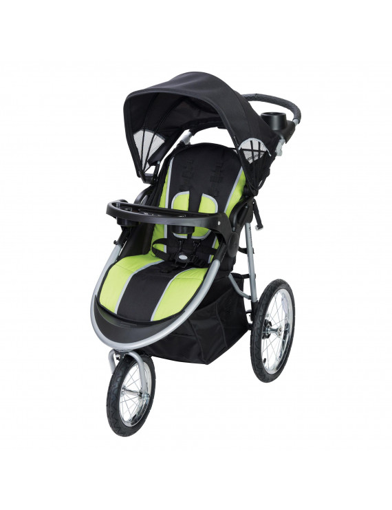 Baby Trend Pathway 35 Jogger Stroller, Optic Green