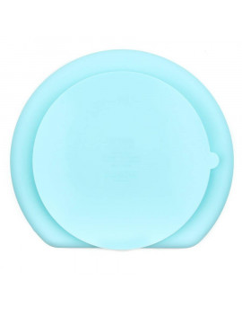 Bumkins Silicone Grip Dish - Suction Divided Baby Plate