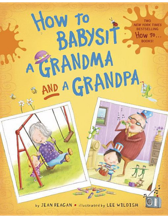 How to Babysit a Grandma and a Grandpa boxed set