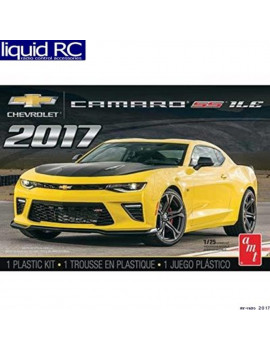 1074M 1/25 2017 Chevy Camaro SS 1LE, 1/25 scale By AMT,USA