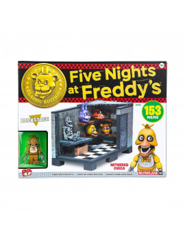 Five Nights at Freddy's Classic Series Backstage Medium Construction Set, 153 Piece