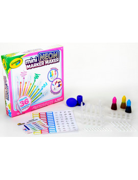 Crayola Mini Neon Scented Marker Maker, Ages 6+