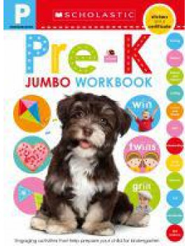 Scholastic Early Learners: Pre-K Jumbo Workbook: Scholastic Early Learners (Jumbo Workbook) (Paperback)