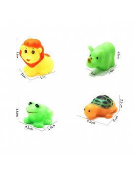 13pcs Baby Boy Girl Bathing Float Squeaky Animal Toy Summer Water Pool Toy