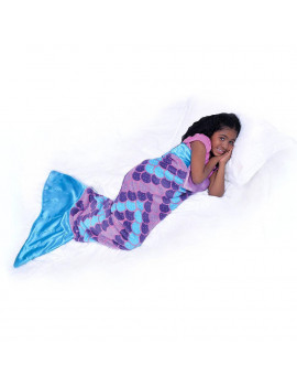 Snuggie Tails Soft, Cuddly Blanket, Mermaid, As Seen on TV