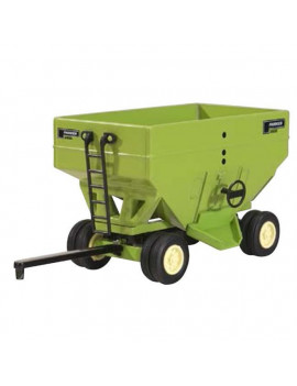 1 by 64 Scale Parker Gravity Wagon with Dual Wheels, Green